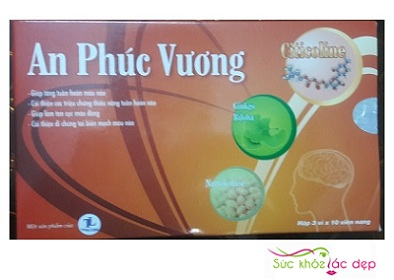 Viên Uống Tăng Cường Tuần Hoàn Não An Phúc Vương Mới Nhất 2019