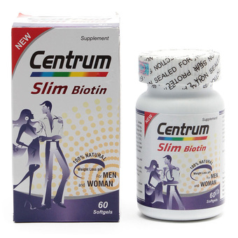 Viên uống giảm cân Centrum Slim Biotin