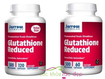 Viên Uống Glutathione Reduced 500 Mg