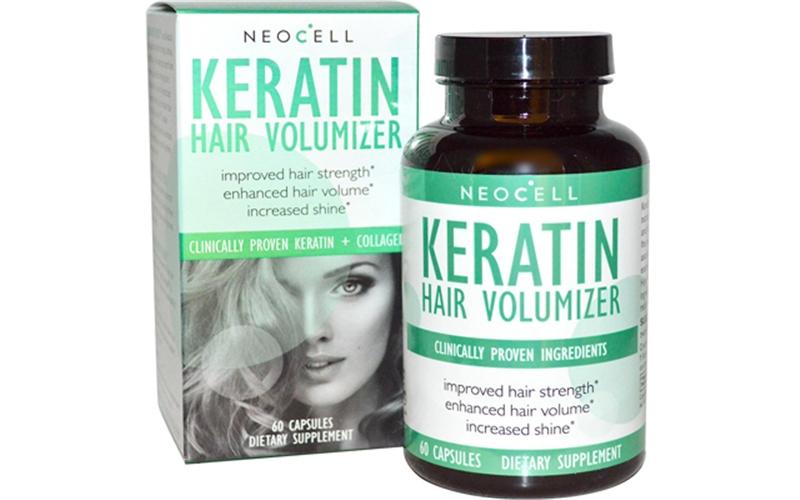 Viên Uống Mọc Tóc Và Ngăn Ngừa Rụng Tóc Neocell Keratin Hair Volumizer.