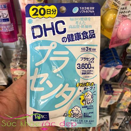 Viên uống nhau thai heo DHC placenta