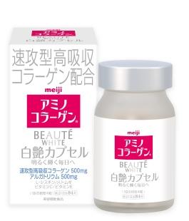 Viên uống trắng da toàn thân Meiji Beaute white – 84 viên