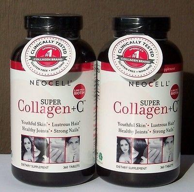 Neocell super collagen +C 360 viên với tốt cho làn da