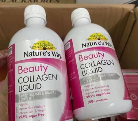 nature's way beauty collagen liquid an toàn cho làn da