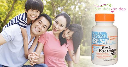 Best Fucoidan 70% giúp tăng cường sức khỏe