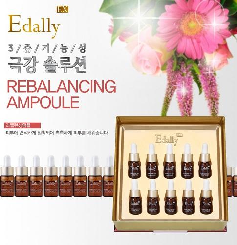 Bộ tinh chất tái cân bằng da Edally EX Rebalancing Ampoule Set