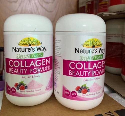 super foods collagen beauty powder của úc