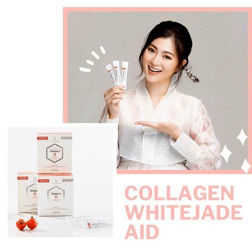 Bột trắng da White Jade Aid Hàn Quốc