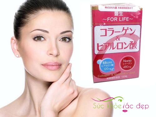 Uống Collagen Honen Nano mang lại làn da tươi trẻ, mịn màng