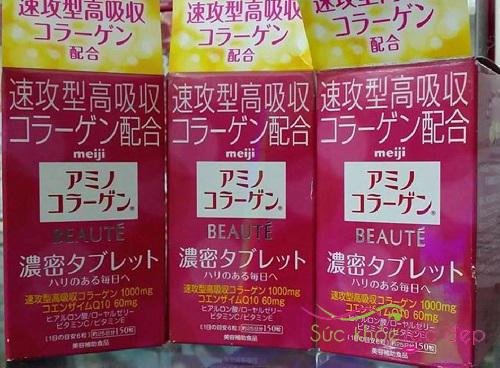 Cách uống Collagen Meiji Beaute hiệu quả