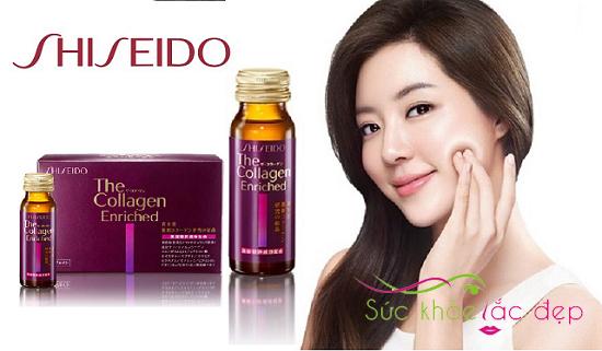 Uống Collagen Enriched của Nhật đúng cách mang lại làn da tươi trẻ