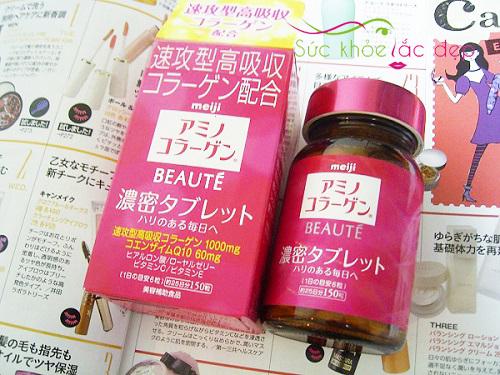 Uống Collagen Meiji Beaute đúng cách mang lại làn da tươi trẻ