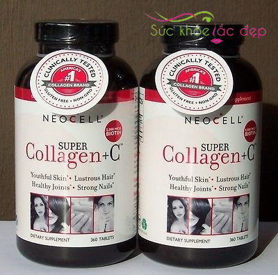 cách uống Neocell Super Collagen + C