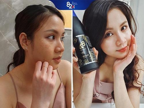 tác dụng sau khi sử dụng nước uống collagen 82x sakura placenta