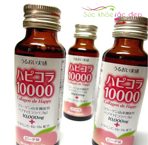 Sử dụng Collagen De happy hồ phục làn da hiệu quả
