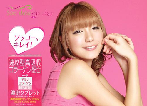 Viên uống Collagen Meiji Beaute có tốt không?
