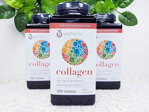 viên uống collagen của mỹ