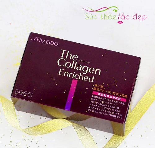 Shiseido The Collagen Enriched dạng nước chính hãng