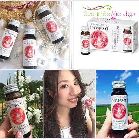 Collagen Shiseido Pure White - Sản phẩm ưa chuộng từ thương hiệu Shiseido