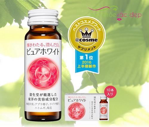 Cách sử dụng Collagen Shiseido Pure White
