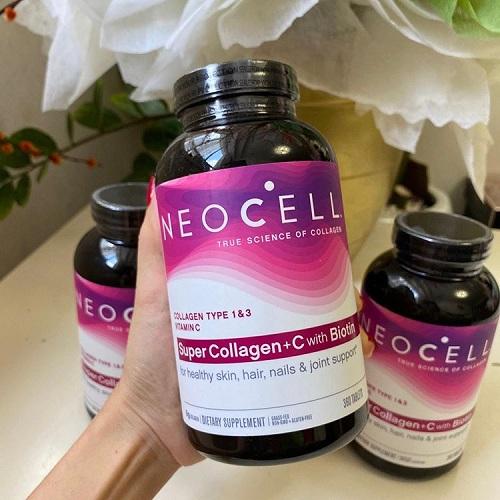 Hướng Dẫn Cách Sử Dụng Neocell Super Collagen + C 360 Viê