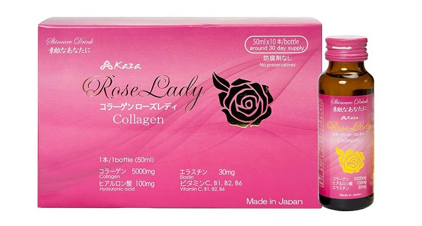 Nước uống Collagen Kaza Rose Lady 5000mg