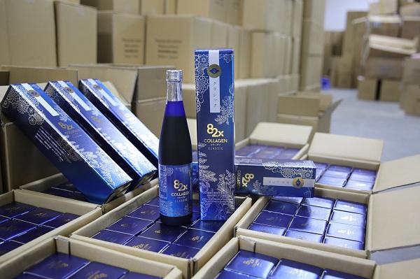 Nước uống Collagen Mashiro 82x Classic New 120.000mg 500ml Nhật Bản