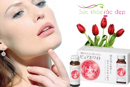 Collagen Shiseido Pure White - Bí quyết làm đẹp đang được ưa chuộng