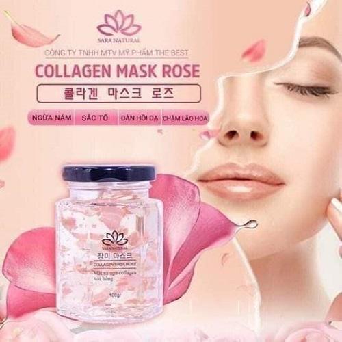 cách sử dụng mặt nạ ngủ tổ yến collagen hoa hồng