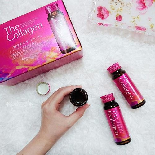 Shiseido The Collagen Enriched dạng nước mẫu mới