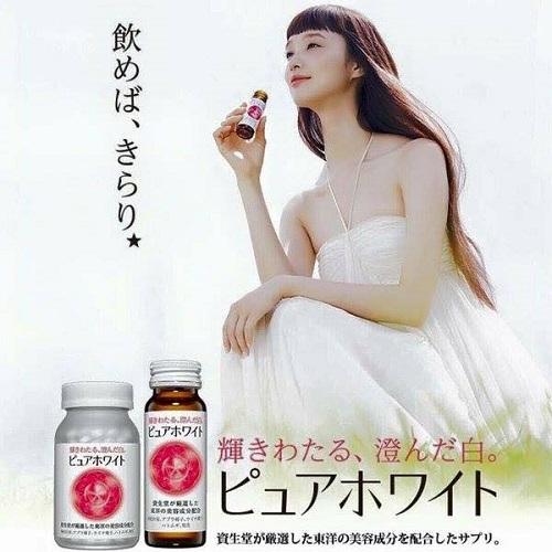 Tác dụng của nước uống Collagen Shiseido Pure White