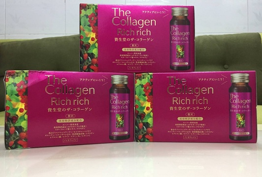 The Collagen Rich Rich Shiseido Dạng Nước Nhật Bản