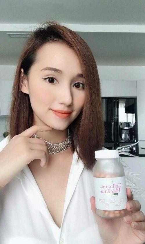 Viên uống trắng da Collagen Placenta 5 in 1 270 viên Nhật Bản