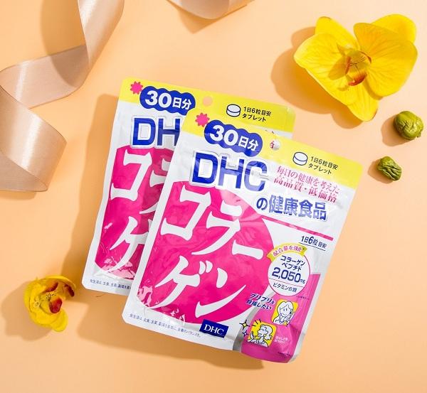 Viên uống DHC collagen 30 ngày