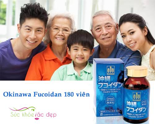 Okinawa Fucoidan Japan tăng cường đề kháng chống lại bệnh tật