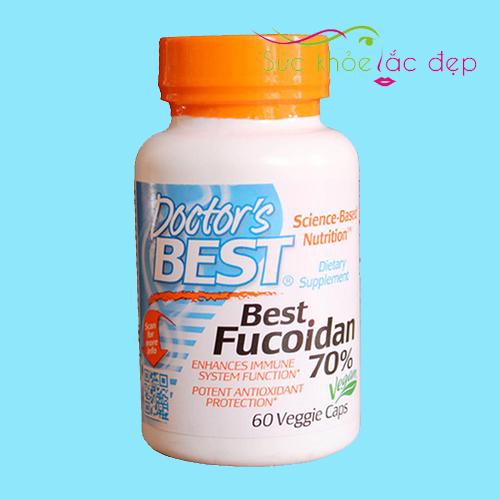 Hình ảnh viên uống Best Fucoidan 70%