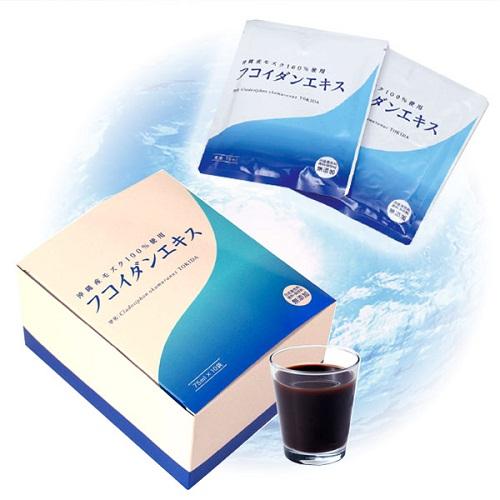 Okinawa Fucoidan Extract dạng nước của Nhật Bản