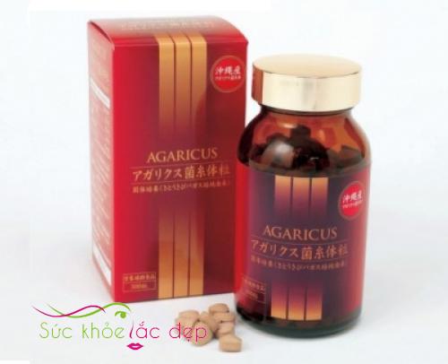 viên thể nấm Agaricus Nhật Bản