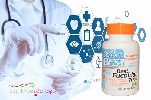Best Fucoidan giúp tăng cường sức khỏe