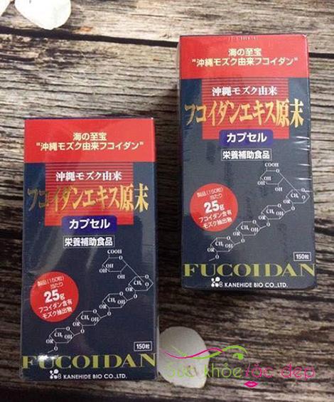 Cách sử dụng Okinawa Fucoidan 150 viên