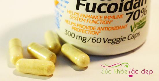 Cách sử dụng viên uống Best Fucoidan
