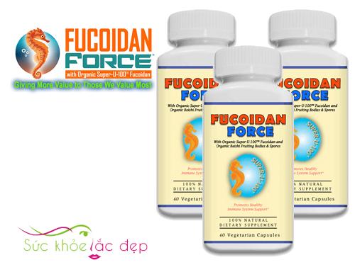 Công dụng của Fucoidan Force 60 viên