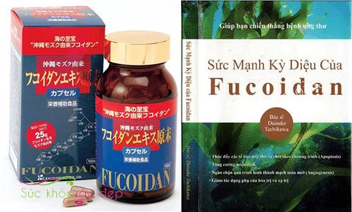 Tác dụng của Okinawa Fucoidan 150 viên Nhật Bản