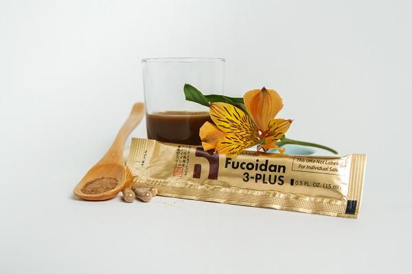 Fucoidan 3-plus NatureMedic dạng nước 50 gói của Nhật Bản