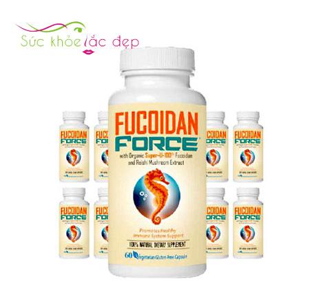 Công dụng của Fucoidan Force