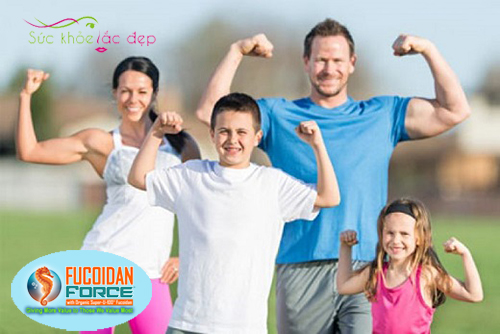 Fucoidan Force tăng cường sức khỏe