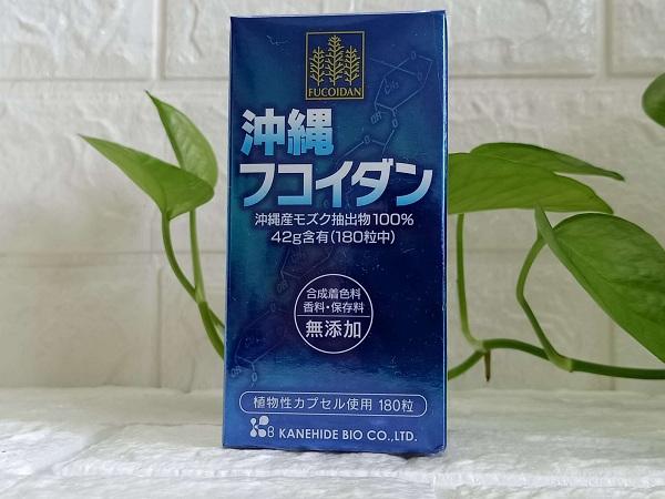 Okinawa Fucoidan 180 Viên Nhật Bả