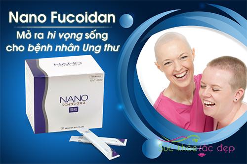 NANO Fucoidan Extract hỗ trợ điều trị ung thư