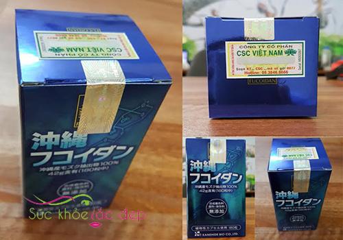 Okinawa Fucoidan dạng viên nhật bản