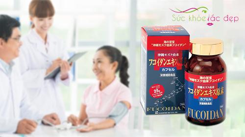 Okinawa Fucoidan giúp tăng cường sức khỏe